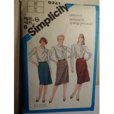 Simplicity Sewing Pattern 6521