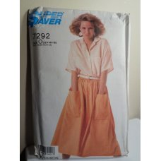 Simplicity Super Saver Sewing Pattern 7292