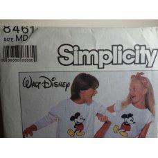 Simplicity Walt Disney Sewing Pattern 8461