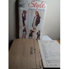 Style Sewing Pattern 1322