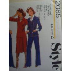 Style Sewing Pattern 2085