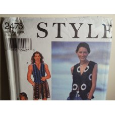 STYLE Sewing Pattern 2473