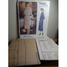 Vogue Albert Nipon Sewing Pattern 1479