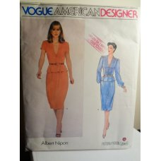 VOGUE Albert Nipon Sewing Pattern 2361