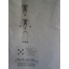 VOGUE Albert Nipon Sewing Pattern 2361