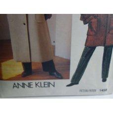 VOGUE Anne Klein Sewing Pattern 1458