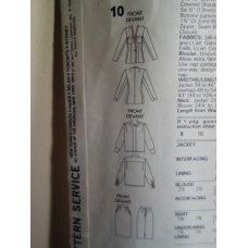 Vogue Anne Klein Sewing Pattern 1931