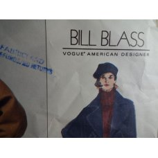 VOGUE Bill Blass Sewing Pattern 1234