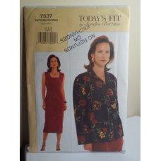 Vogue By Sandra Betzina Sewing Pattern 7537