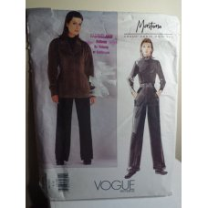 VOGUE Claude Montana Sewing Pattern 2345