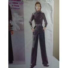 VOGUE Claude Montana Sewing Pattern 2345