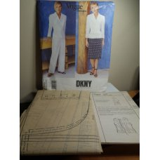 Vogue DKNY Sewing Pattern 1743