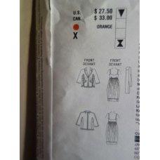 VOGUE Donna Karan Sewing Pattern 2942