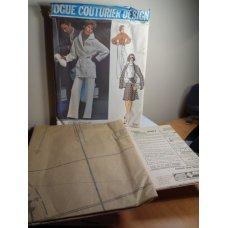 Vogue GALITZINE Couturier Sewing Pattern 2987