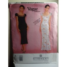 VOGUE GIVENCHY Sewing Pattern 1978