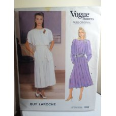 Vogue Guy Laroche Sewing Pattern 1553