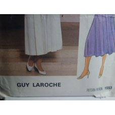 VOGUE Guy Laroche Sewing Pattern 1553