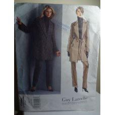 Vogue Guy Laroche Sewing Pattern 2886