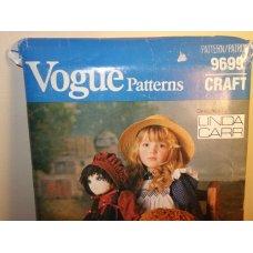 Vogue Linda Carr Sewing Pattern 9699