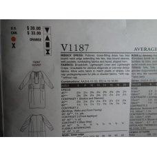 Vogue Sewing Pattern 1187 KOOS Van Den Akker
