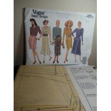 Vogue Sewing Pattern 2987