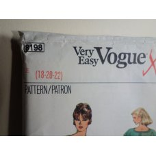 Vogue Sewing Pattern 8198