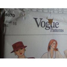 Vogue Sewing Pattern 8870