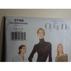 Vogue Sewing Pattern 9798