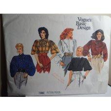 VOGUE Sewing Pattern 1082