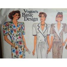 Vogue Sewing Pattern 1698