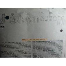 Vogue Sewing Pattern 1753