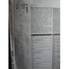 VOGUE Sewing Pattern 2771