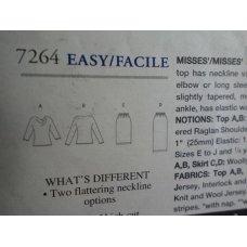 Vogue Sewing Pattern 7264