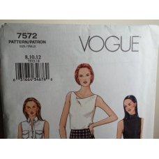 VOGUE Sewing Pattern 7572