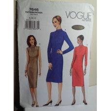 VOGUE Sewing Pattern 7646