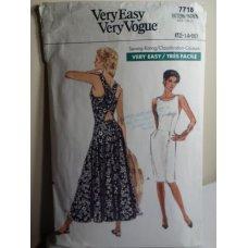 VOGUE Sewing Pattern 7718