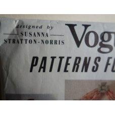 VOGUE Sewing Pattern 7930