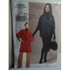Vogue Sewing Pattern 8605