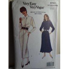 VOGUE Sewing Pattern 8751