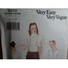 VOGUE Sewing Pattern 9572