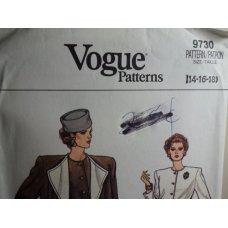 VOGUE Sewing Pattern 9730