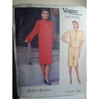 Vogue Yves Saint Laurent Sewing Pattern 1431